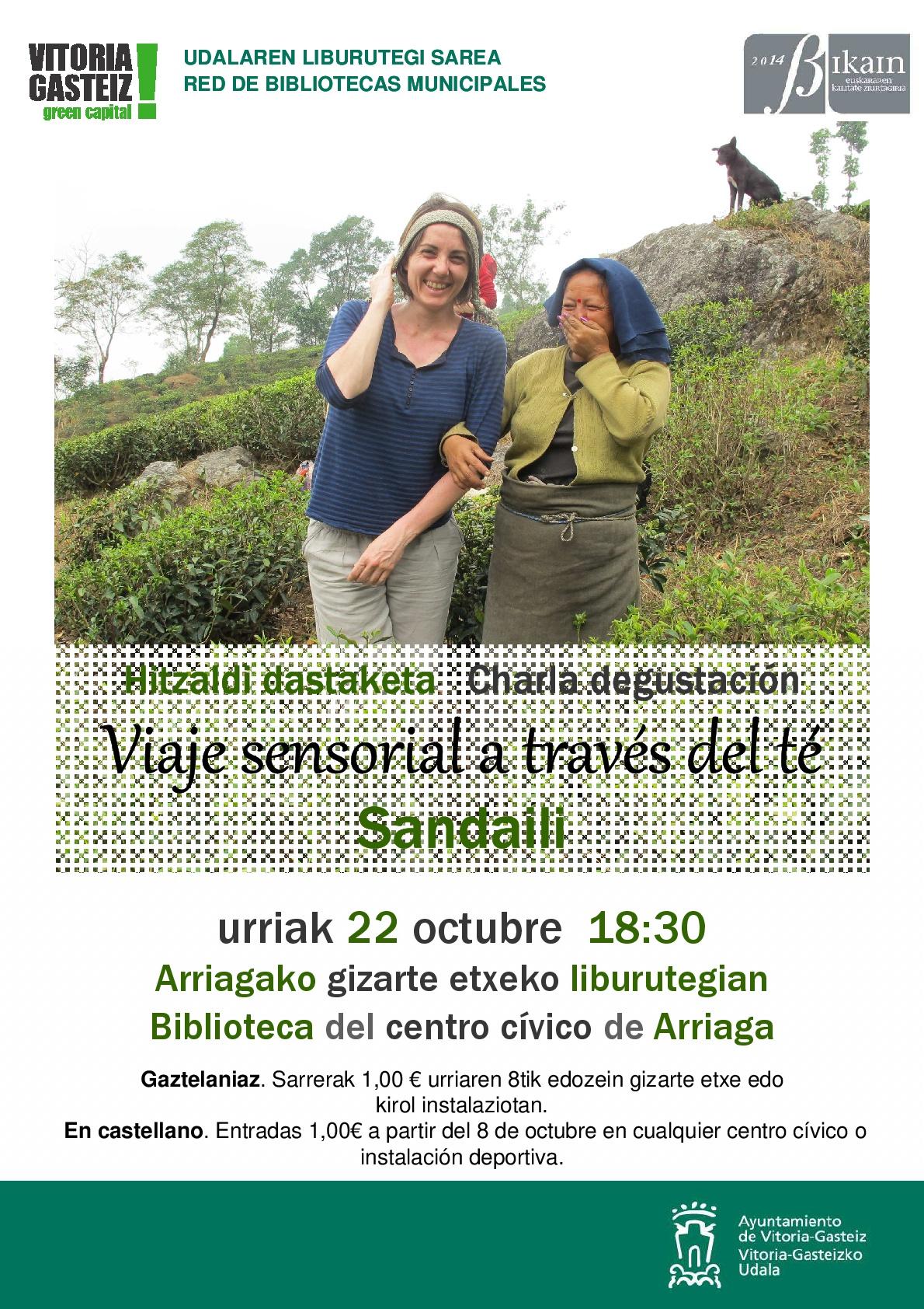 """Charla-Degustación """"Viaje sensorial a través del té"""""""