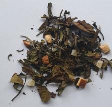 Té-blanco -Bai Mu Dan -té- verde-mango - lima