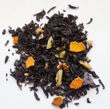 Té negro-trufa- de -naranja- con- chocolate -negro- y- blanco
