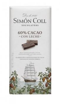 Chocolate -60%- cacao -leche