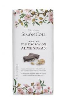 Chocolate-70%-cacao - almendras